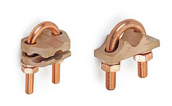 Bronze-U-bolt-Guv-Grounding-Earthing-Clamps