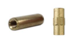 Bronze ground rod couplers