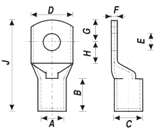 Cable-lugs-Terminals-Light-Duty