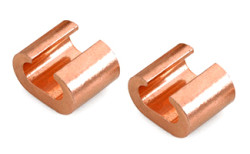 Copper C type clamps Connectors