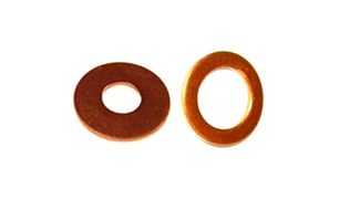 Copper DIN 125 Washers