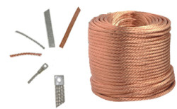 Round Copper Braids Rope
