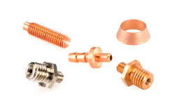 Copper Screw Machine Components Parts