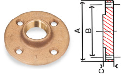 Bronze Blind Flanges