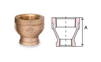 Bronze Fittings Reducing Couplings