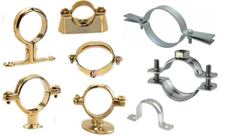 Bronze Pipe Clamps