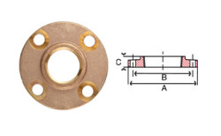 Bronze Threaded Flanges