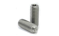 Brass Allen Key Grub Screws