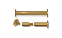 Brass Book Binding Screws