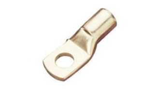 Crimping Type Copper Tubular Cable Terminal Ends Light Duty