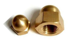 Brass Dome Nuts